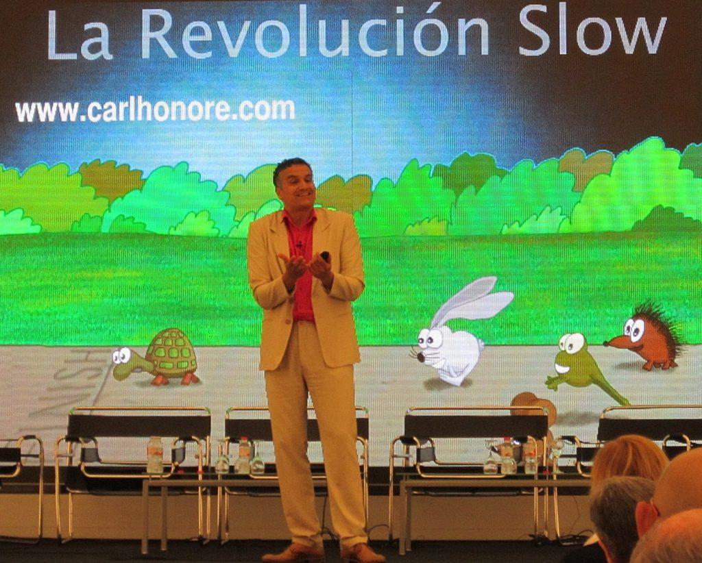 Carl Honoré La revolución Slow