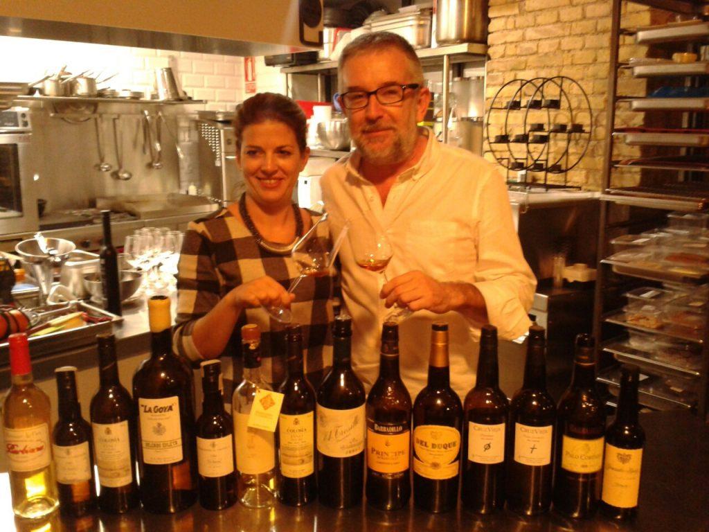 Eva Pizarro y José Ferrer Morató