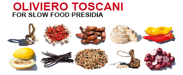 Fotografías de Oliviero Toscani de alimentos Baluarte Slow Food