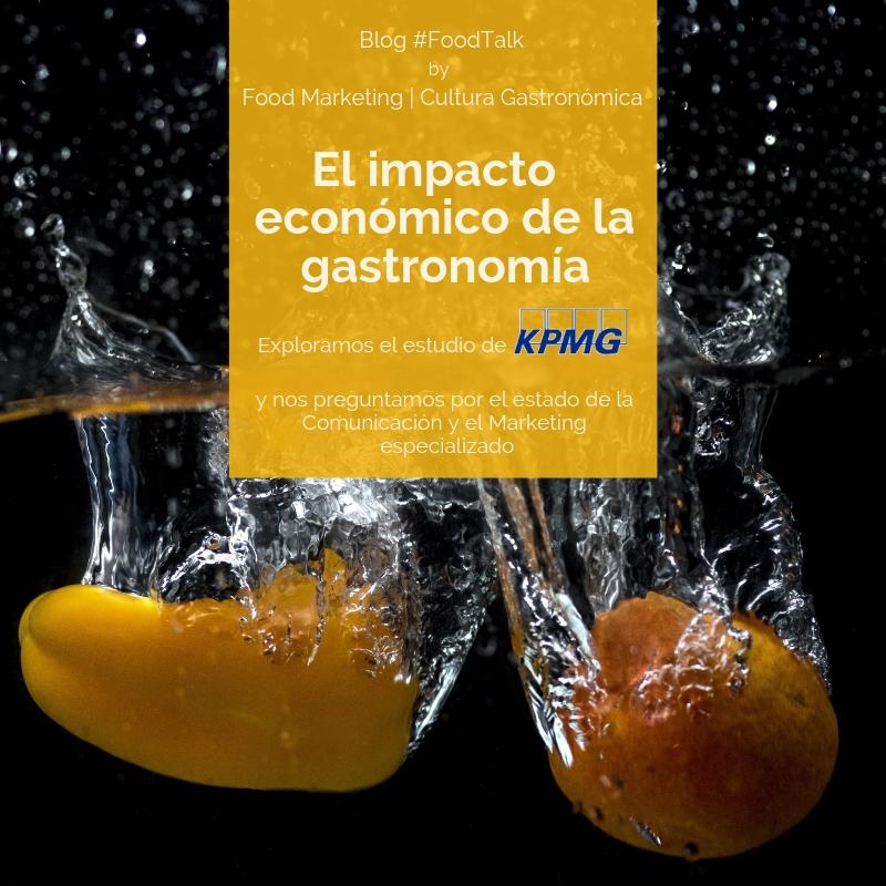 La gastronomía en la economía española